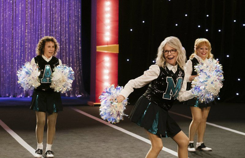 Movie review: 'Poms' is too embarrassed of itself to be empowering