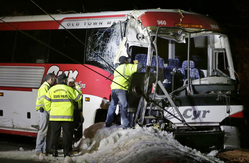 Miraculously, few injured in I-95 bus crash | Local News