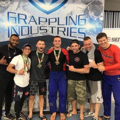 Ex-Triton wrestling champ Mark Boyle enjoying fast success in Brazilian jiu jitsu