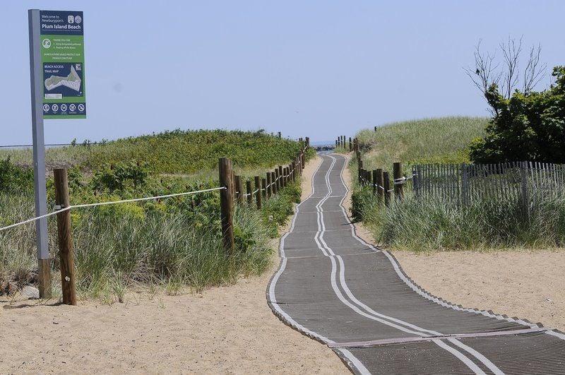 Dune erosion, Mobi-Mats assessed on Plum Island