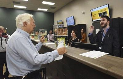 It's official: Salisbury store sells its first legal marijuana