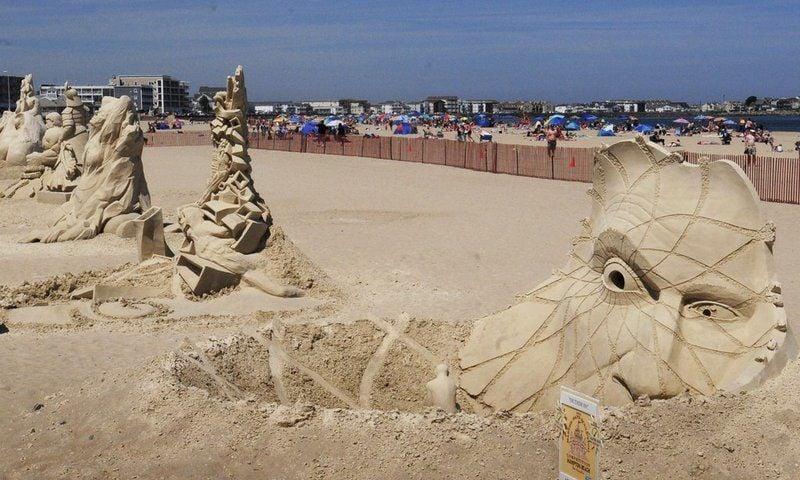 Hampton Beach Hosts 19th Sand Sculpting Competition Local News Newburyportnews Com
