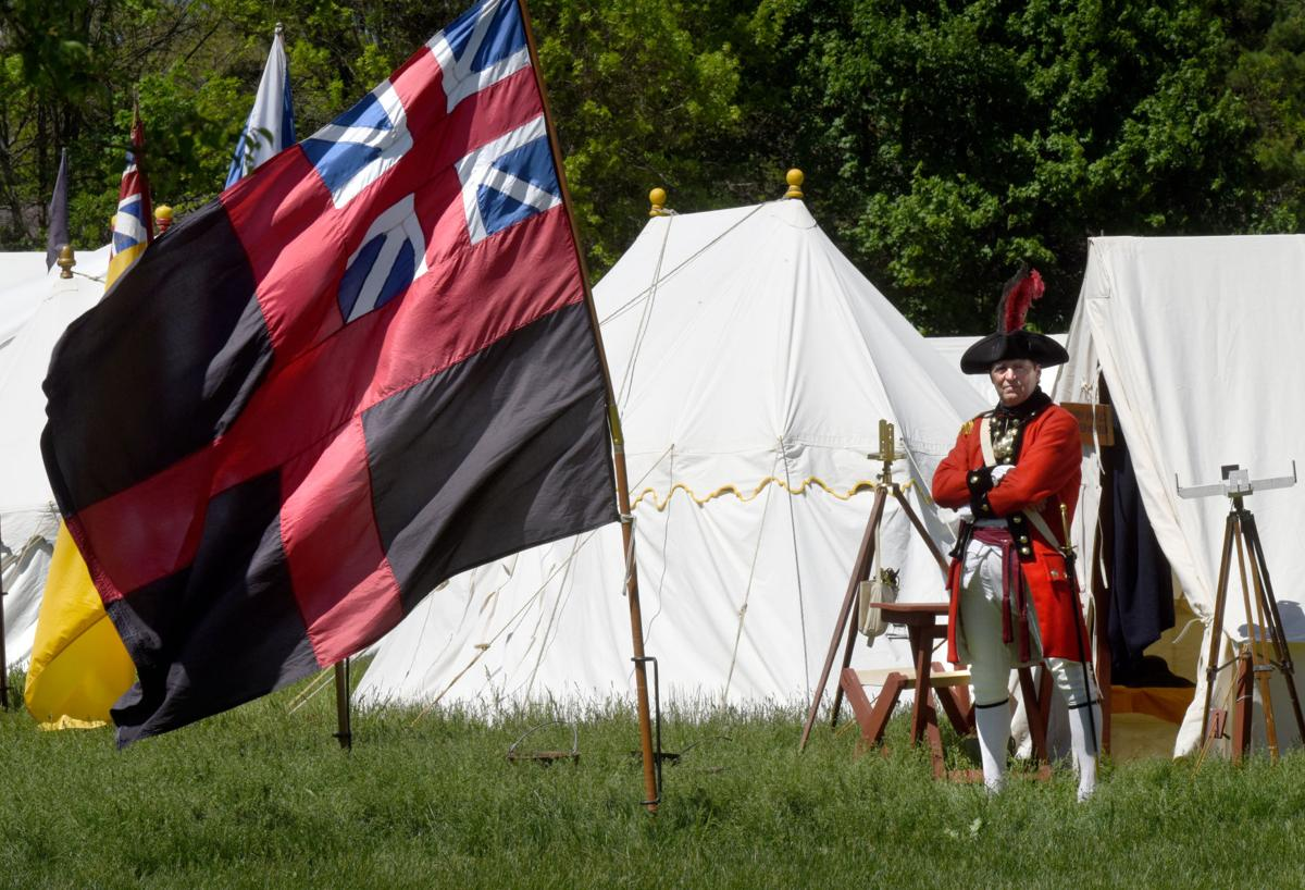 SLIDESHOW: Revolutionary War reenactment at Spencer-Peirce