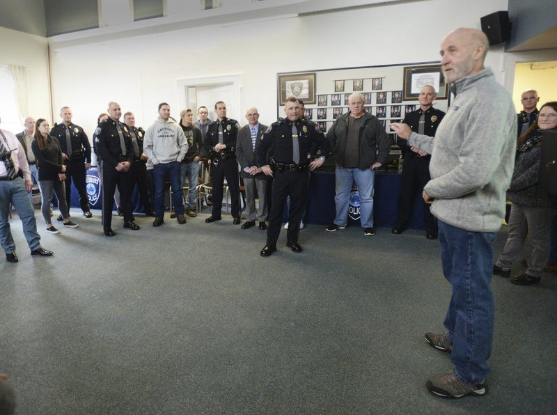 Sgt. Poulin wraps up an active career