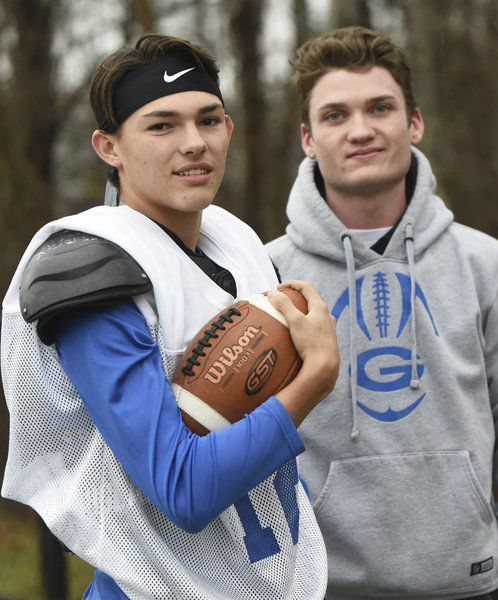 Airing it out: Georgetown's MacDonald, Galley have formed historic passing tandem