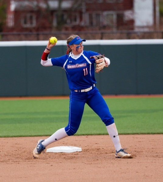 This 'Cash' is money! Ex-Governor's star Cashman a record-setting hitter for UMass Lowell softball
