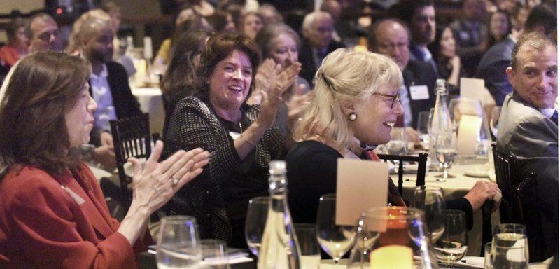 LitFest founder honored with Edward G. Molin Award