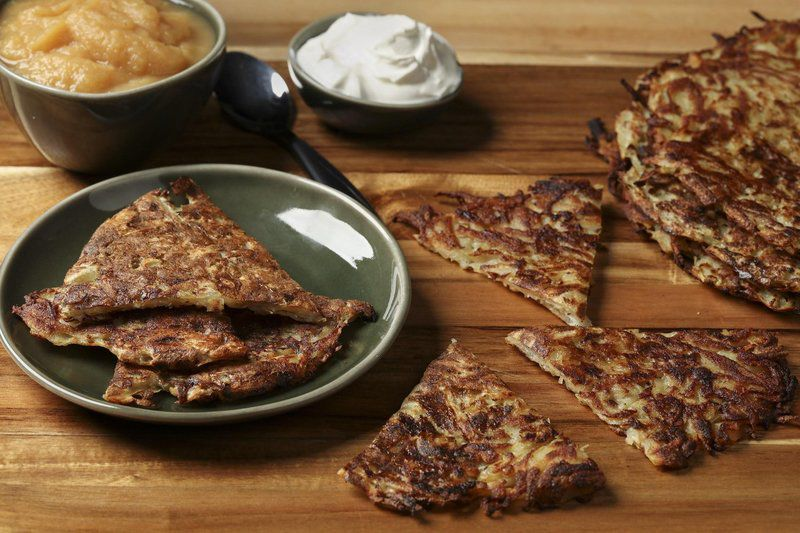 Have a stockpile of potatoes?Make delectable savory pancakes