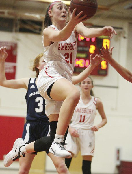 Amesbury girls hoops still perfect at season's midway point