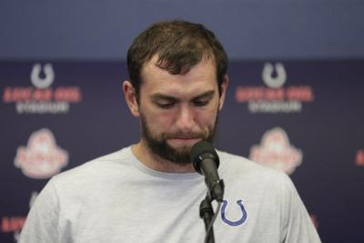 Luck shocks Colts, NFL with sudden retirement announcement