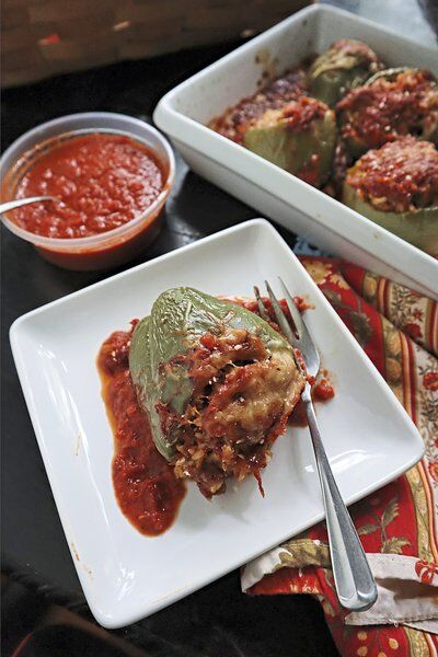 Serve up fall comfort with cheesy stuffed peppers