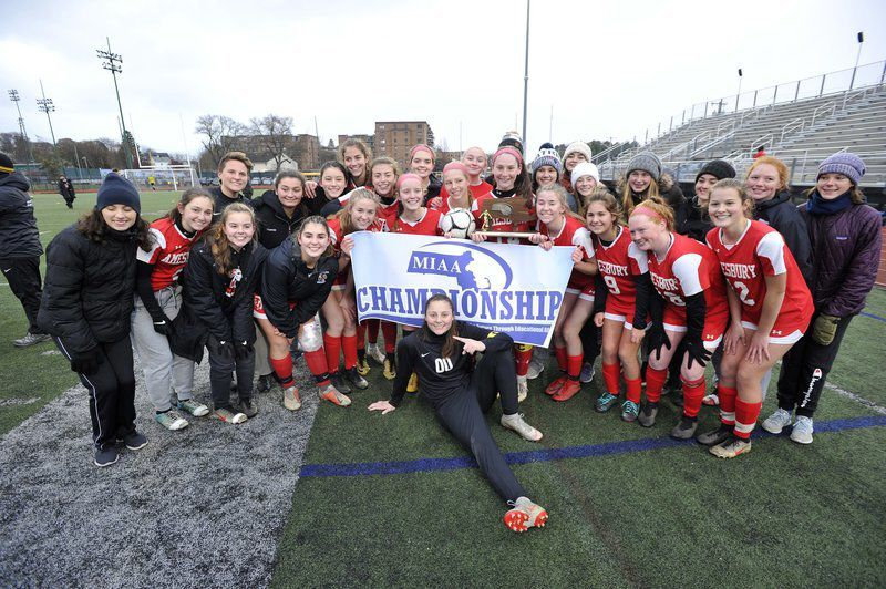 Champs once more! Amesbury girls soccer beats M.E. in PKs, wins fourth straight North title
