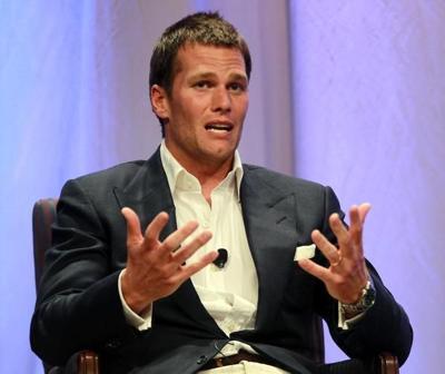 Tom Brady speaks at Salem State University