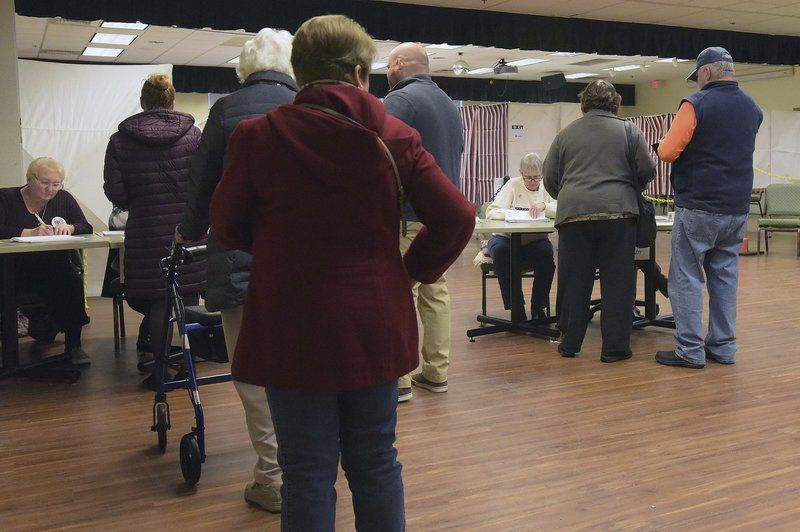 NH voters flock to polls in nation's first primary