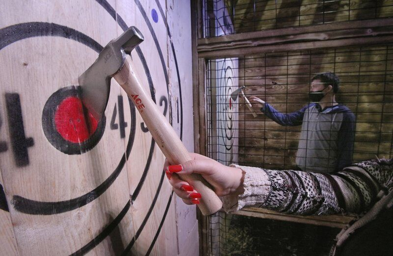 Ax throwing offered in Amesbury