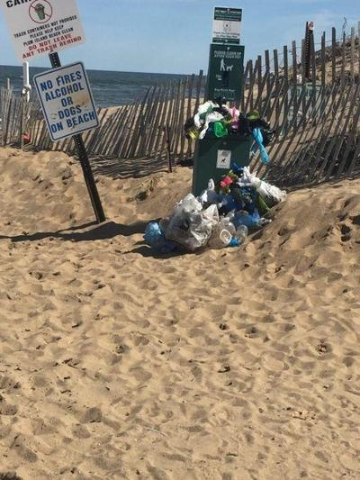 Officials exasperated by continuing trash dumping at Plum Island center
