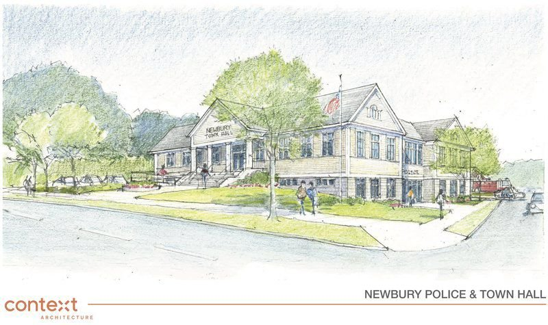 Combined police, Town Hall plan goes before Newbury voters