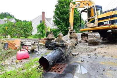 Water main valve failure leaves Amesbury residents high and dry