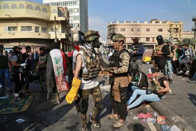 FortyIraqi protesters slain as violence intensifies