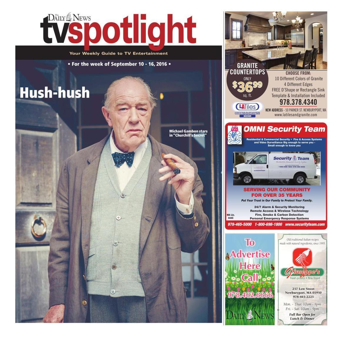 TV Spotlight, Sept. 10-16