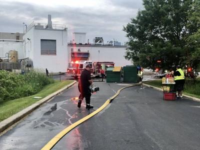 Port firefighters battle chemical fire at PCI Synthesis/Seqens