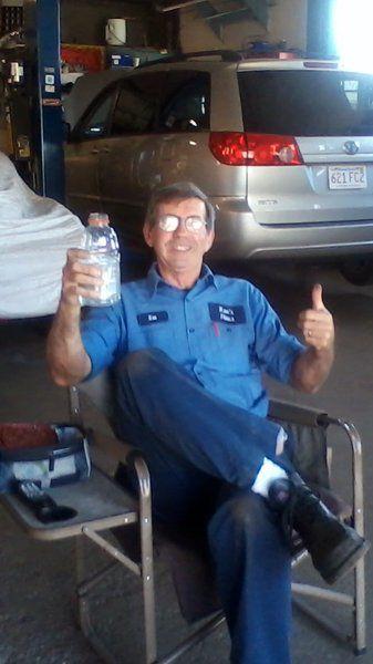 Founder of Ken's Haus repair shop enjoying retirement
