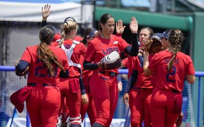 Osterman back in form, U.S. softball starts run with a win