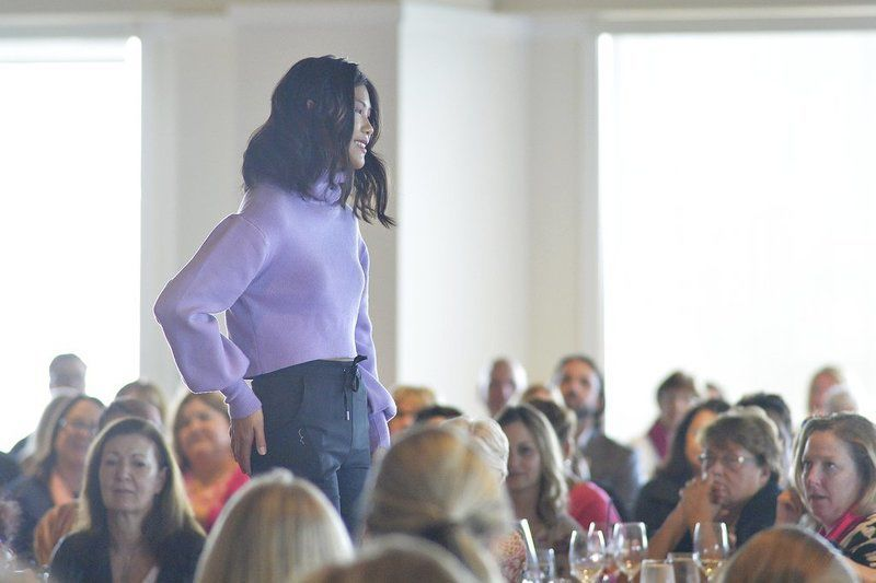 Breast cancer survivors, caregivers walk in Couture for a Cure