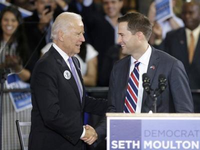 Moulton endorses Bidenin presidential race