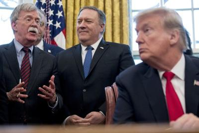 Trump dismisses John Bolton, says they 'disagreed strongly'