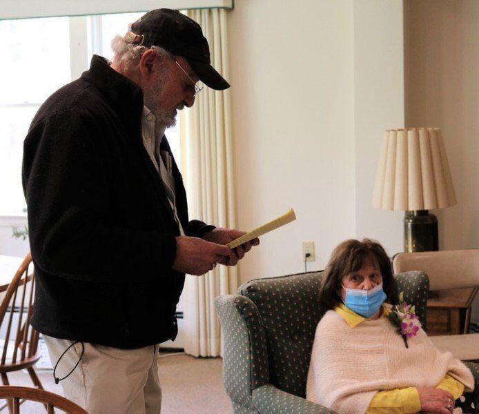 Newbury woman receives Boston Post Cane