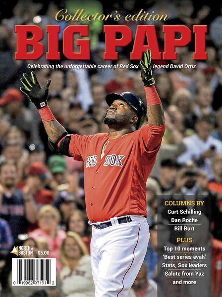 A salute to Big Papi: Magazine honors baseball great's career
