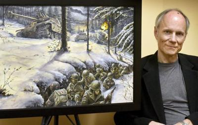 Local artist's Battle of the Bulge painting to debut Feb. 1