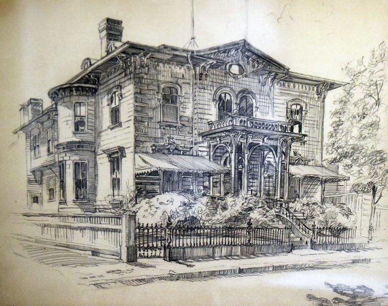 Yankee Homecoming visionary's artwork put on display