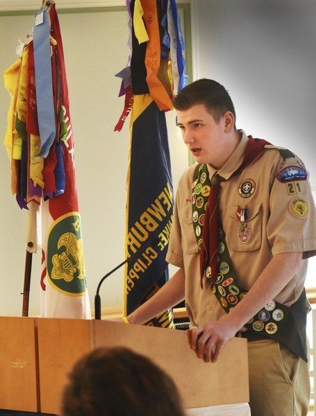 Residents honored at Newburyport Mayor's Breakfast for Scouting