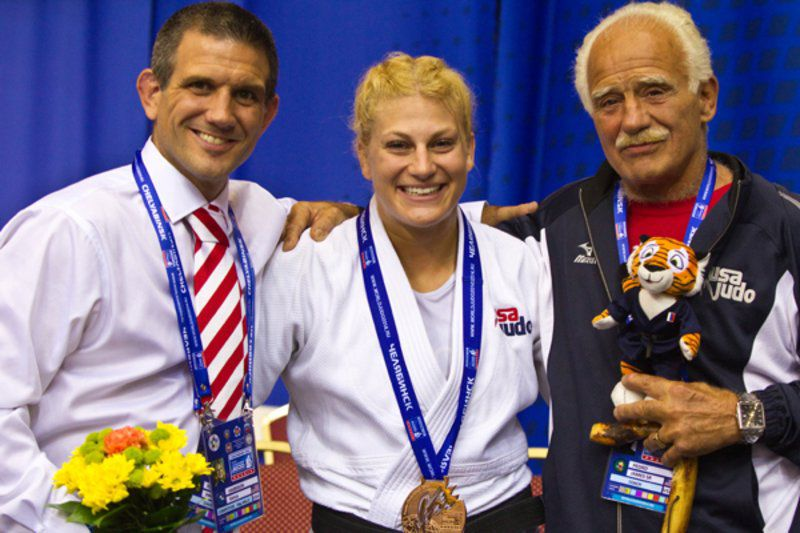 Jimmy Pedro and his dad: Guardians at USA Judo gate   Sports