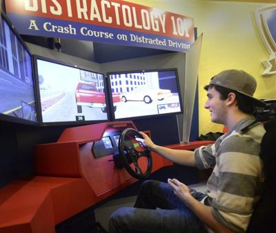 'Distractology 101' gives lesson in dangers of texting and driving
