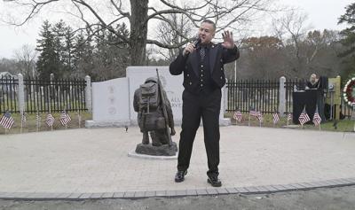 Merrimac dedicates veterans memorial
