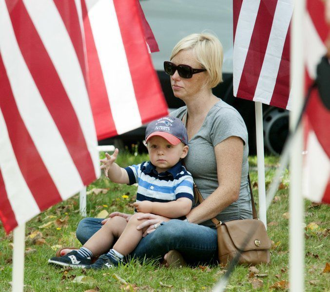 Flags fly proudly at Newburyport's Field of Honor