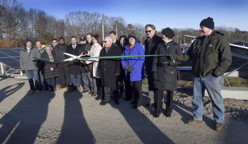Titcomb solar field online in Amesbury