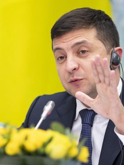 Zelenskiy: Allies 'can't go blocking' aidduring war