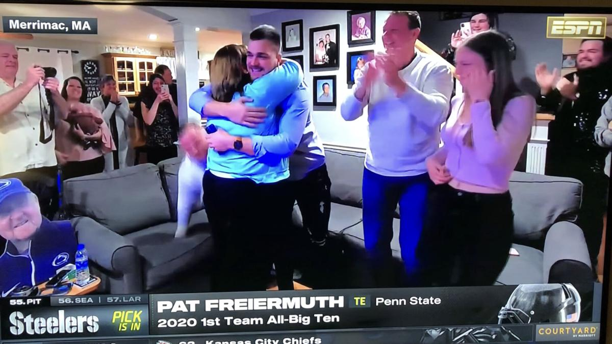 Pat Freiermuth drafted