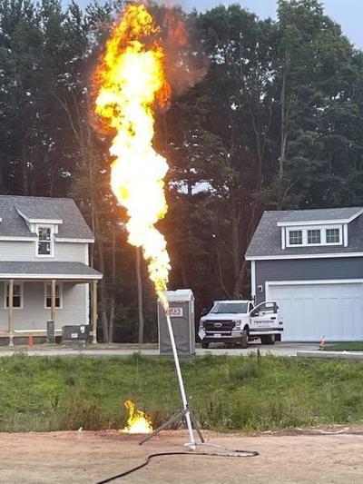 West Newbury families evacuated after propane gas leak