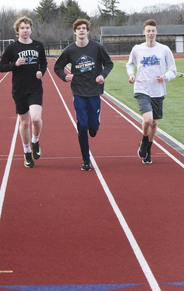 The extra mile: Already Triton's record holder, Graham Stedfast has ambitious goals in the mile