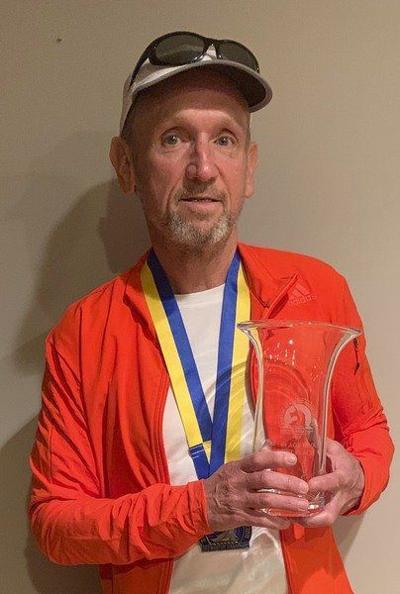 Amesbury's Crochiere wins 60-64men's division at Boston Marathon