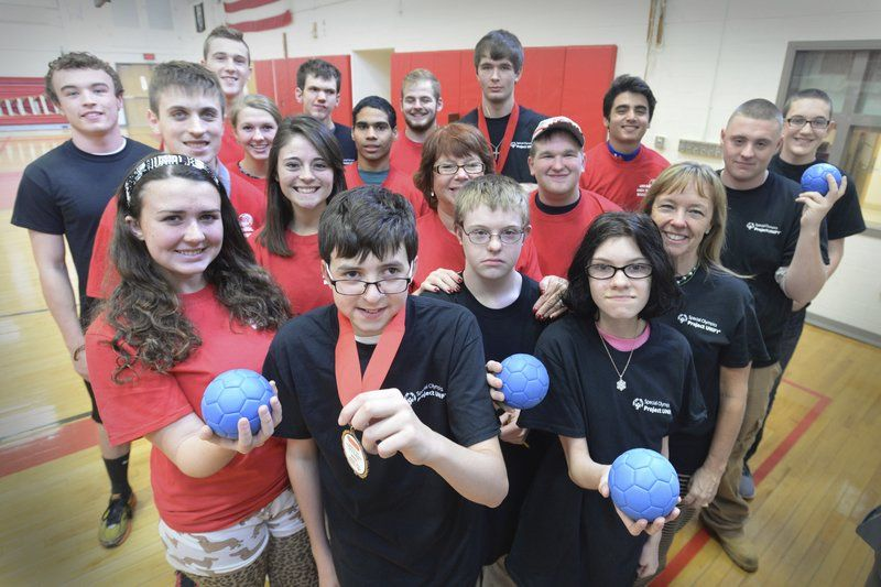 AHS unified bocce team competes in Special Olympics