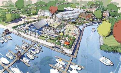 Marina proposal in Amesbury includes restaurant and hotel