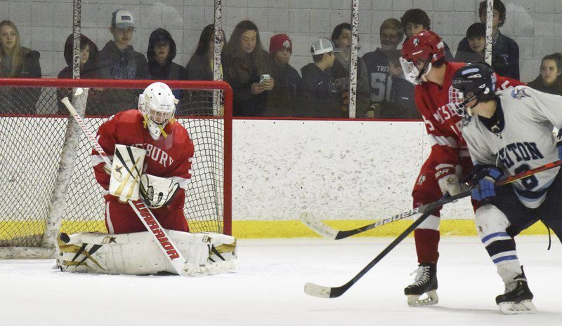Triton hockey rebounds with dominant win over Amesbury