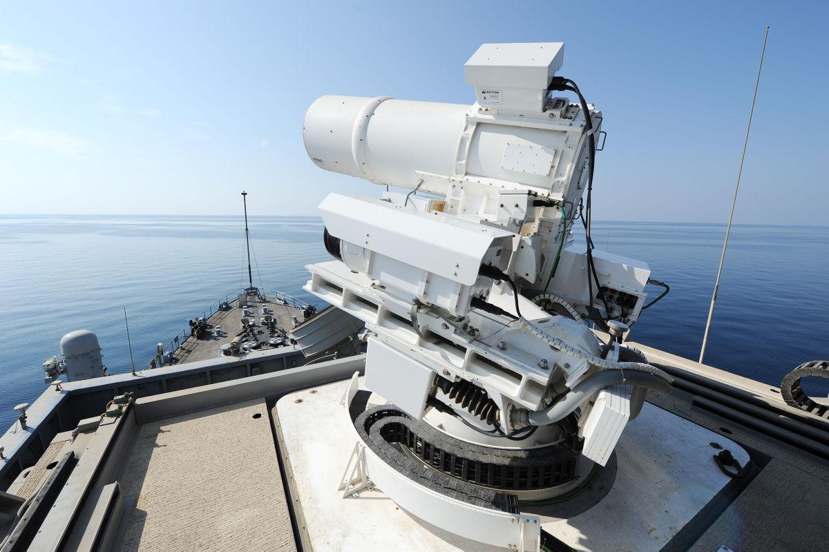 Navy laser gun