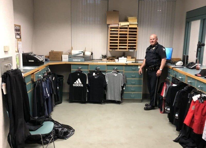 Two charged with stealing clothing from Marshalls